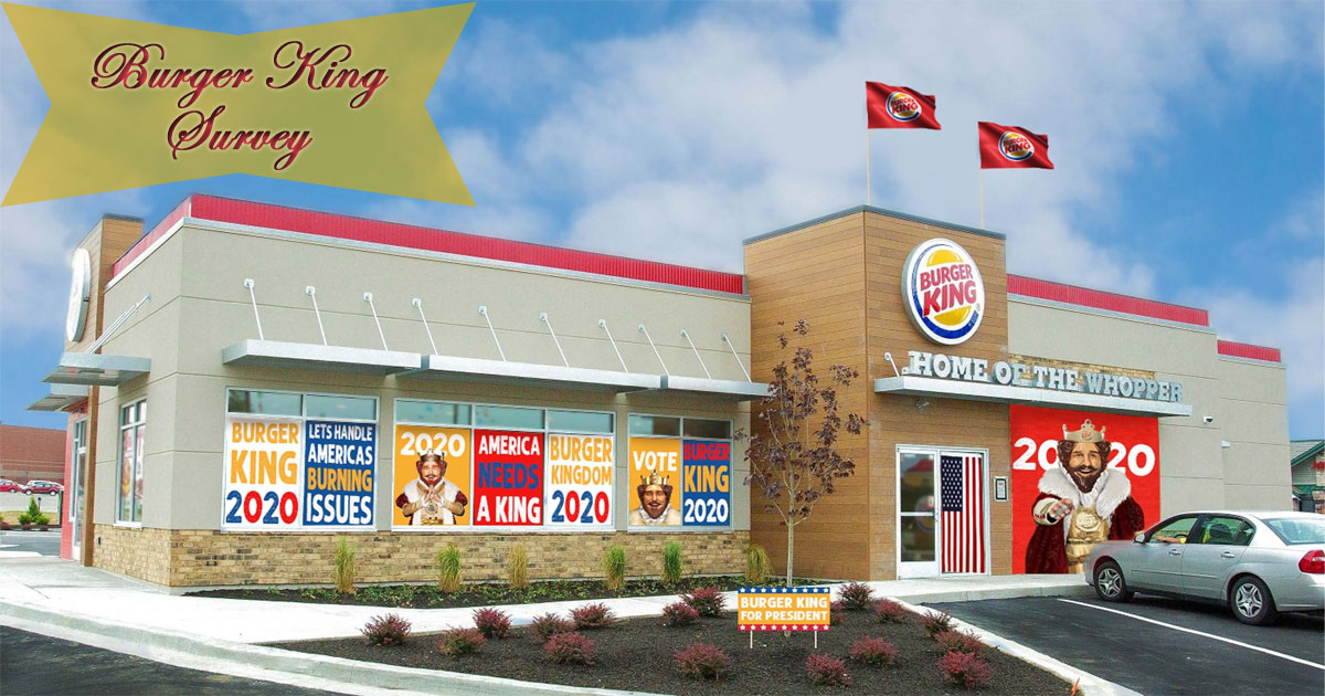 Burger King Survey Image